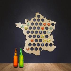 Carte de France - Collecteur de capsules