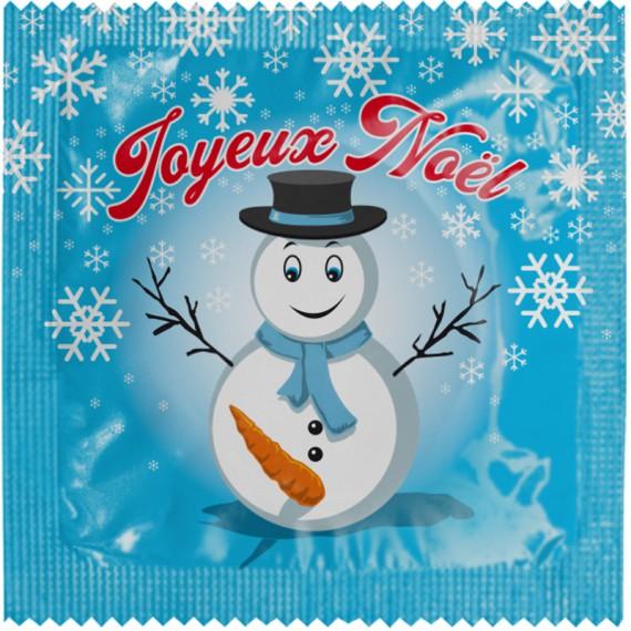 Préservatif Bonhomme de neige