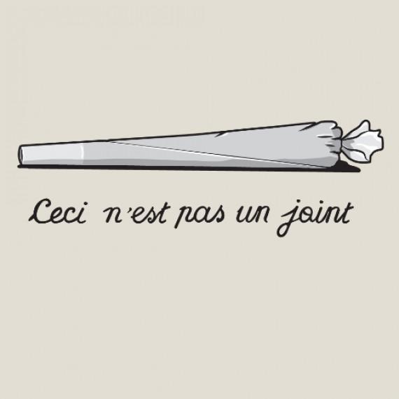 T-shirt - Ceci n'est pas un joint