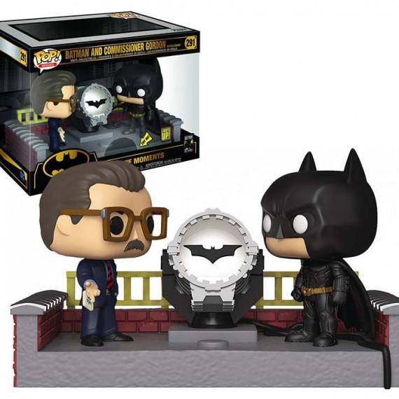 Figurine Batman 80th - Batman and Commissioner Gordon