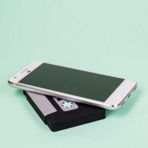 Chargeur sans fil - Cassette rétro
