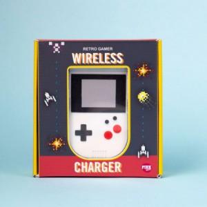 Chargeur sans fil - Console gamer rétro