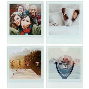"""Sous-verres Polaroid """"Personnalisables"""""""