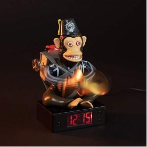 Réveil Monkey Bomb à Cymbales