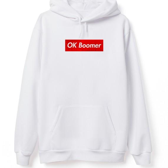 Sweat-shirt - OK Boomer