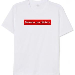T-Shirt - Maman qui déchire