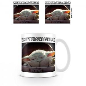 Mug Baby Yoda When Your Song