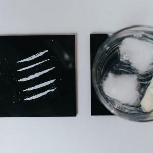 Sous-Verres cocaïne (x4)