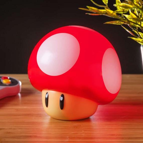 Lampe Champignon Nintendo