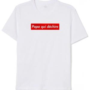 T-Shirt - Papa qui déchire