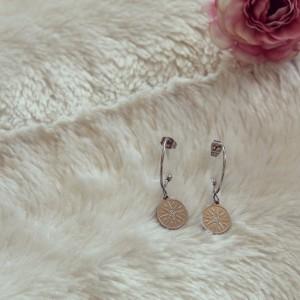 Boucles d'oreilles - Ancolie