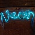 Lampe néon à faire soi-même