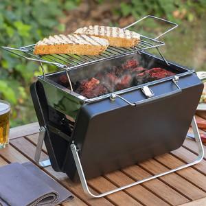 Barbecue mallette portable