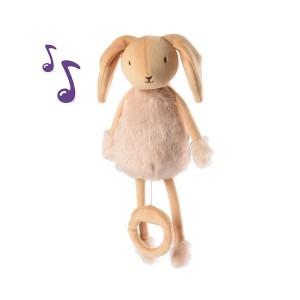 Peluche animaux - Boîte à musique