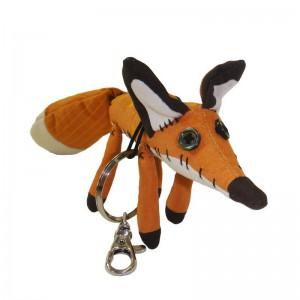 Porte-clés renard en peluche