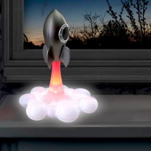 Lampe fusée