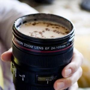 Tasse a café mug appareil photo