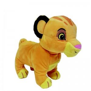 Simba Marche avec moi - Peluche animée Le Roi Lion