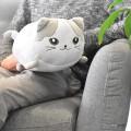 Coussin silhouette de chat