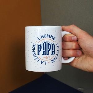 Mug - Captain Papa - L'homme, le mythe, la légende