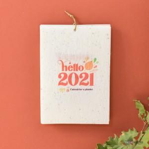 Calendrier à Planter Hello 2021