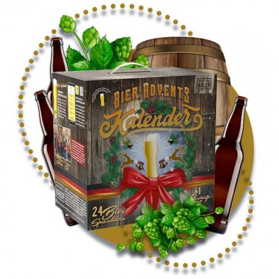 Calendrier de l'avent spécial Mousse : 24 Bières + 1 Verre