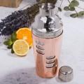 Set shaker Cocktail cuivré