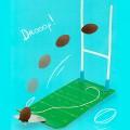 Mini jeu - Le rugby de bureau