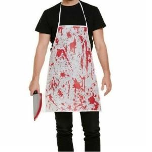 Tablier de cuisine sanglant Dexter