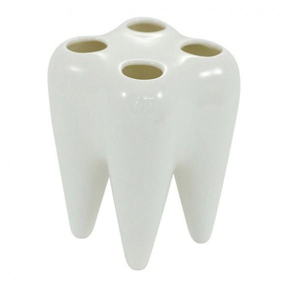 Porte brosses à dent dent