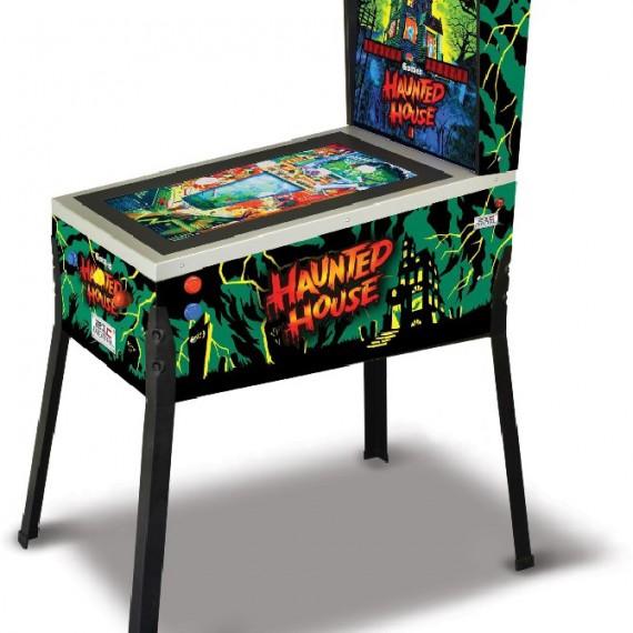 Flipper Gottlieb numérique 3D sur pied - écran LCD - 12 tables de jeux