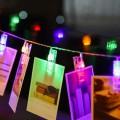 Guirlande lumineuse - Clip porte-photos