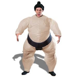 Costume de sumo gonflable