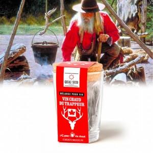 Kit tasse Mélange pour vin chaud du trappeur - Quai Sud