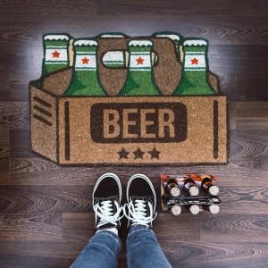 Paillasson Bières