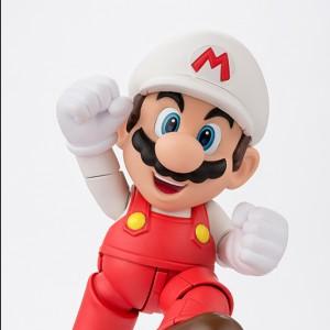 Figurine articulée Super Mario de feu