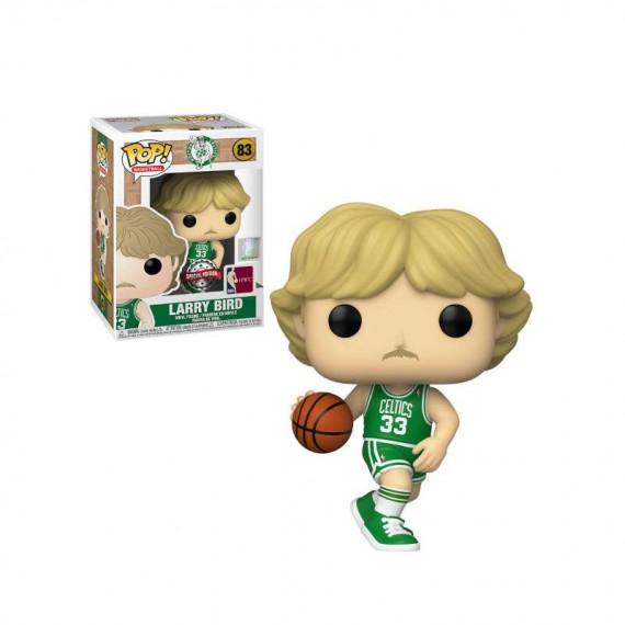 Figurine Basketball - Legend Larry Bird Celtics Away Uniform Special Edition Pop 10 cm