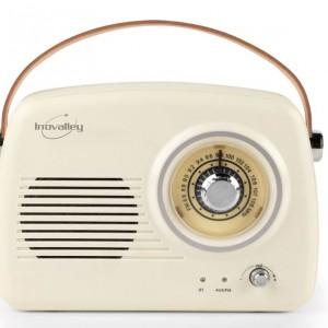 Enceinte Radio Vintage - Compatible Bluetooth