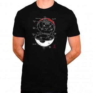 T-shirt Pokemon Pokeball plan