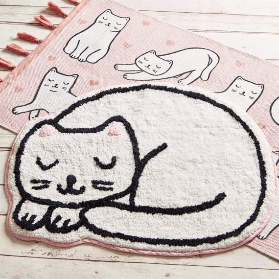 Tapis - chat endormi