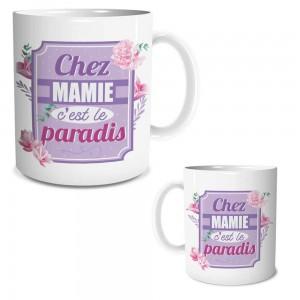 Ensemble mug et chaussettes Chez Mamie