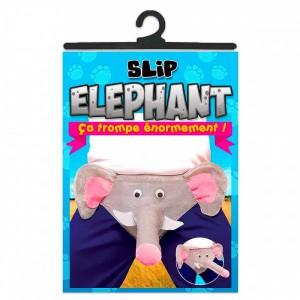 Slip humoristique éléphant