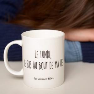 Mug - Le Lundi Je Suis au Bout de Ma Vie