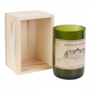 Bougie parfumée - Q de bouteille de vin