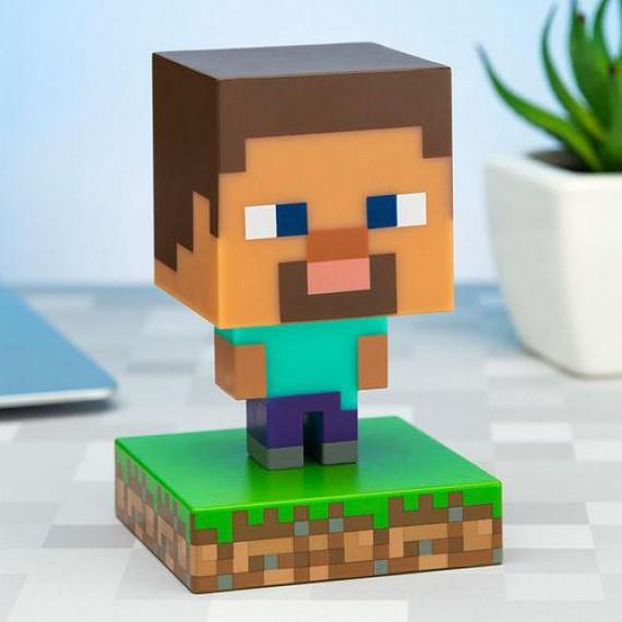 Lampe Minecraft Steve