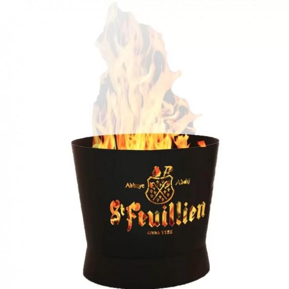 Box Premium Saint-Feuillien - Brasero + 6 bouteilles + 5 verres