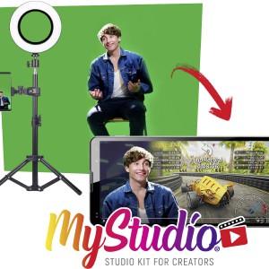 Kit Photo-Vidéo avec écran vert