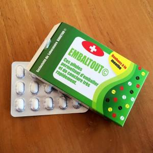 Médicament EMBALTOUT, des laboratoires Ginictou