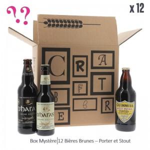 BOX MYSTERE 100% BRUNE x12 BIERES