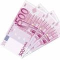 Mouchoirs billets de 500 euros